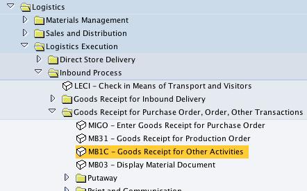 How to input stock into SAP – Jan 2011 SAP Training Batch